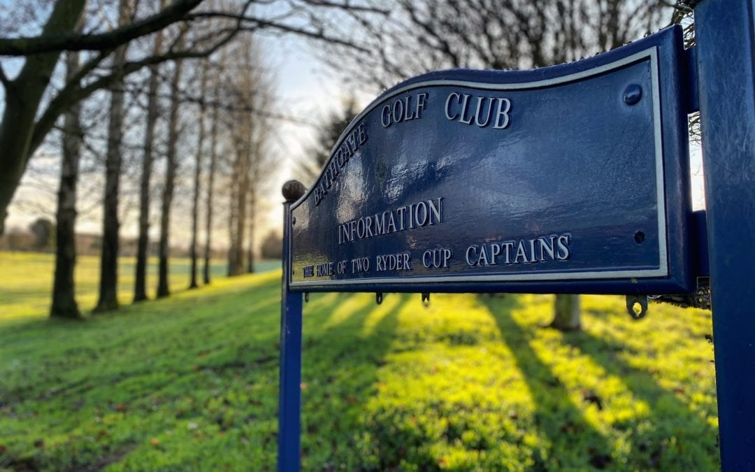 Your Invitation to Become a Partner of Bathgate Golf Club