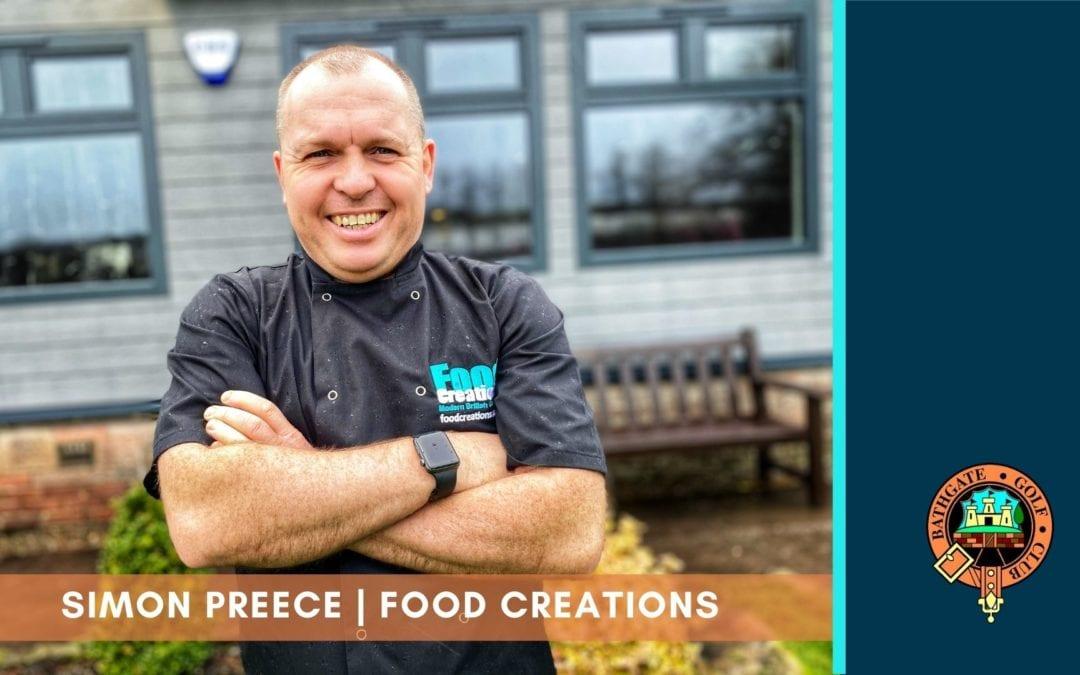 Q&A with Simon Preece – Food Creations at Bathgate Golf Club